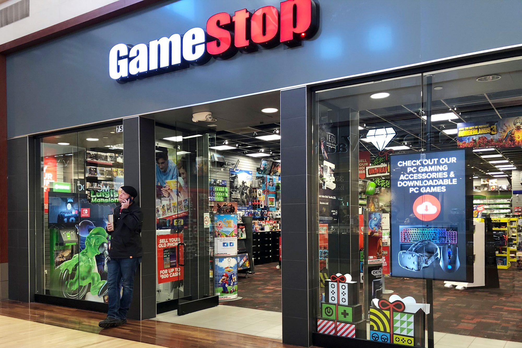 GameStop GME Bolsa Americana
