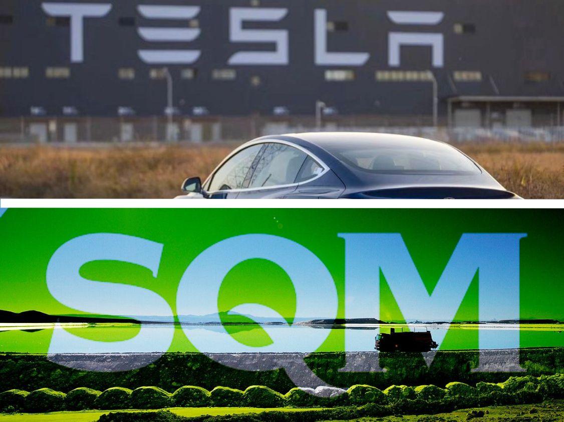 Tesla SQM Litio Albemarle