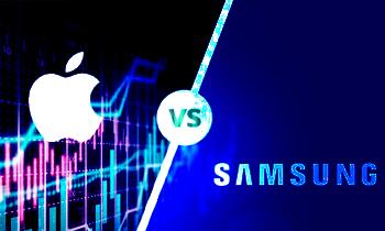 Apple VS Samsung Stock